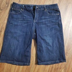 vera wang Bermuda shorts, denim